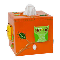 Give a Hoot Tissue Box Cover