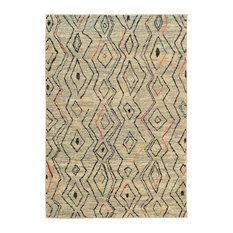 "Oriental Weavers SphinxNomad Ivory Multi Area Rug, 2162W, 5'3""x7'6"""