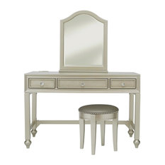 R2H  Li l Diva Youth Vanity Stool Bedroom Makeup Vanities and Houzz