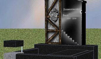 3-D Entwurf Urnengrabanlage