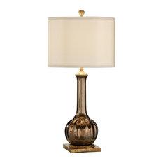 Vase Table Lamp WILDWOOD HOME Santa Clara Wedding 1-Light Light Tan