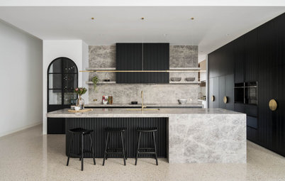 Room of the Week: A Spacious Kitchen With Luxurious Materials