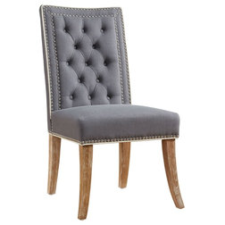 Transitional Dining Chairs by Benjamin Rugs and Furniture