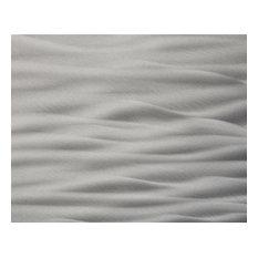 """Currents Stainless Steel Kitchen Backsplash, 30""""x48"""""""