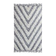 Tangier Kilim Hand-loomed Shag Area Rug by Kosas Home