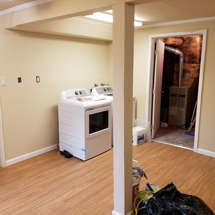 Laundry Room/ Craft Room Remodel