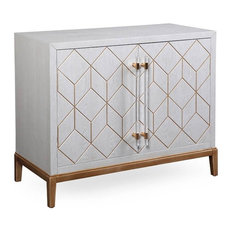 BASSETT MIRROR CO. - Perrine Hospitality Cabinet - Accent Chests and Cabinets