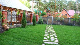 Создание уютного сада в Челябинске от Ландшафт74
