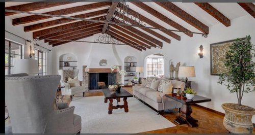 Spanish Colonial Style Bungalow Skylights