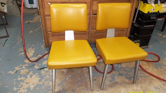 1972 Retro aluminum chairs
