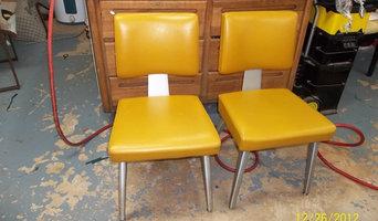 1972 Retro aluminum chairs