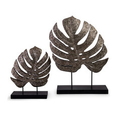 2-Piece Silver Leaf Set