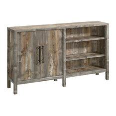 Sauder Granite Trace Farmhouse Wood 58-inch TV Stand Cabinet In Rustic Cedar