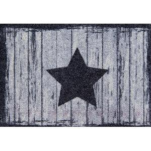 Clean Keeper Grey Star Doormat