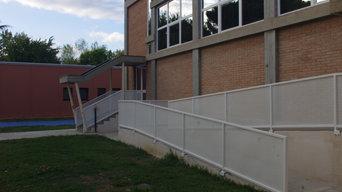Riqualificazione area esterna Scuola Media G. Pascoli