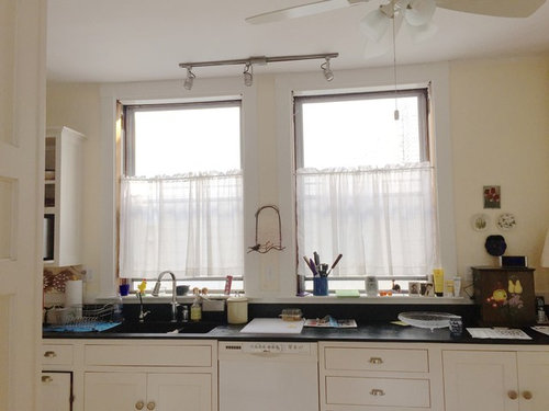Large Kitchen Windows Need Privacy Airflow