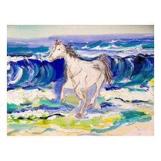 Horse & Surf Door Mat 18x26