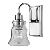 Luxury Vintage Bath Vanity Light, Columbus Series, Polished Chrome