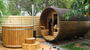 Wooden Saunas and Hot Tubs