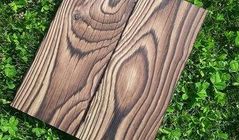 Sample Boards - Shou Sugi Ban Lumber