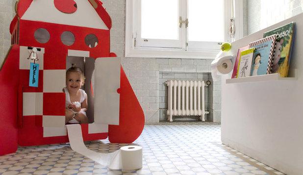 Современный Ванная комната by PLAYOFFICE