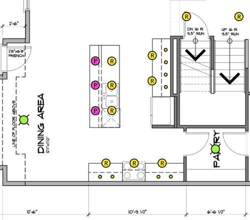 How S My Kitchen Lighting Plan Looking