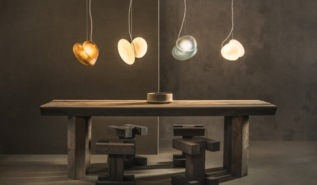 5 Lighting Trends From New York: Customisable, Organic Designs