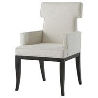 Theodore Alexander Tau Dining Arm Chairs, Set of 2