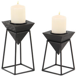 Industrial Candleholders by Brimfield & May