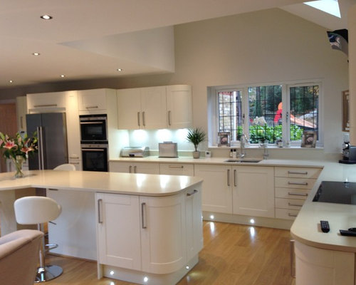 Clapham Shaker Kitchen: Ivory-Painted Kitchen Ideas, Pictures, Remodel And Decor