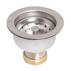 Speakman Kitchen Deep Dish Posi-Lock Assembly Round, Polished Chrome
