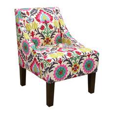 Swoop Arm Chair, Santa Maria Desert Flower
