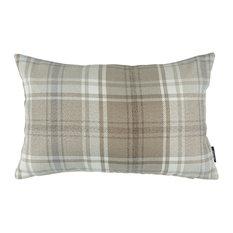 McAlister Angus Decorative Pillow, Natural Beige, Filled Pillow, 30x50 cm