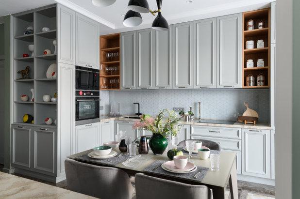 Неоклассика Кухня by Happy House Architecture&Design