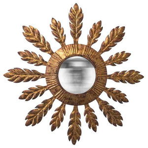 EMDE Convex Soleil Leaf Mirror