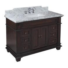 Bathroom Vanities Okc seven-foot vanity | houzz