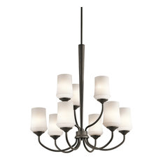 Chandelier 9-Light, Olde Bronze, Standard