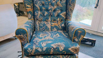 Wingback Re-Upholster