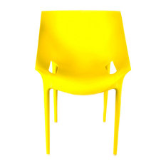 Riddi Stacking Chair, Yellow