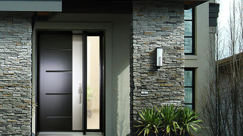 Contemporary entry doors from our Urbania Collection