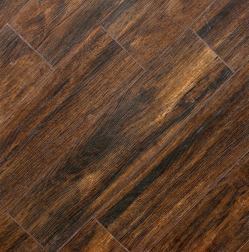 Botanica Teak Wood Plank Porcelain - Wall And Floor Tile - Wood Plank Porcelain Tile