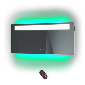 """Chroma 60""""x30"""" LED Mirror With BlueTooth Speakers, Defog, and Dimmer"""