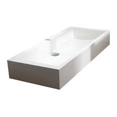 Tikamoon - Vasque salle de bain en terrazzo Pegase 100 - Lavabos