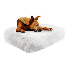 Bessie and Barnie Sicilian Rectangle Bed - Snow White, Large