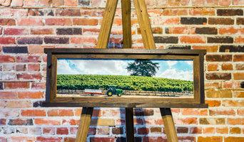 Divergence Reclaimed Wood Frames for Craig Maize Studios