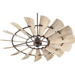 "Goodman Designs - 72"" Windmill OiLED Bronze Transitional Ceiling Fan - Product Style : Transitional"