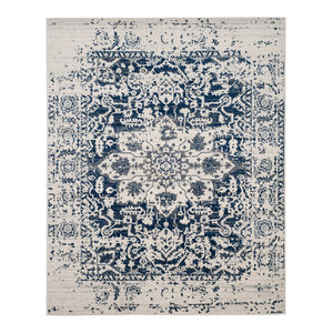 Safavieh Madison Area Rug, Cream, Navy, 8'x10'