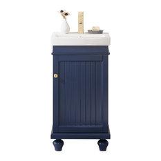 Legion Furniture Dawson Single Sink Vanity Blue 18-inch