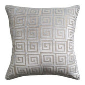 athenee Velvet Gray Pillow