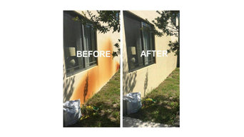 Before & After Pressure Washing in Azle, TX